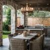 Лучшие летние кухни на даче с барбекю: проекты и планировка