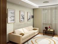 Оформление гостиной в квартире (49 фото) — подбор мебели, штор и обоев