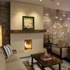 Искусственный камень в интерьере гостиной (50 фото)