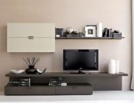 Мебель под ТВ в гостиную в современном стиле — фото