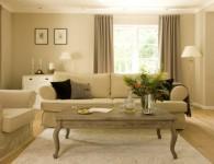 Сочетание цветов в интерьере гостиной, если стены бежевого цвета