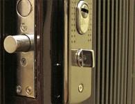 Замена замка на входной металлической двери