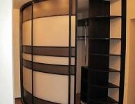 Производство радиусного шкафа-купе под заказ