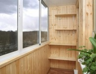 Выполнение ремонта на балконе