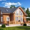 Деревянный дом – наиболее оптимальный вариант загородного жилища