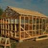 Как успешно построить каркасную баню