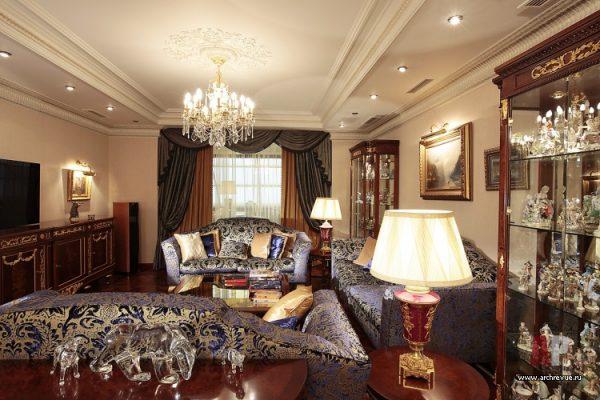 Квартира в классическом стиле.