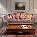 Обивка мягкой мебели с набивным рисунком