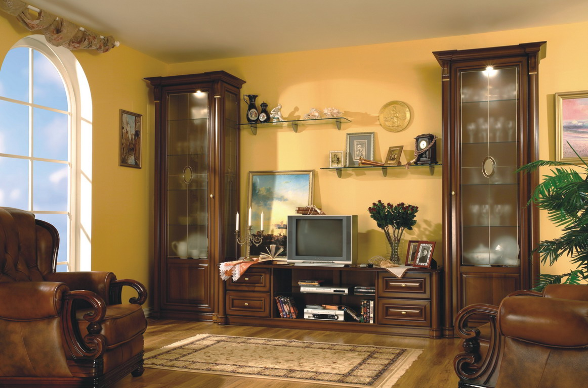 Мебель для гостиной в классическом стиле