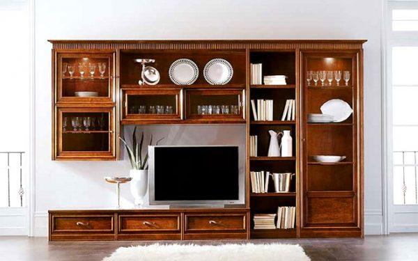 Шкаф модульный в классическом стиле