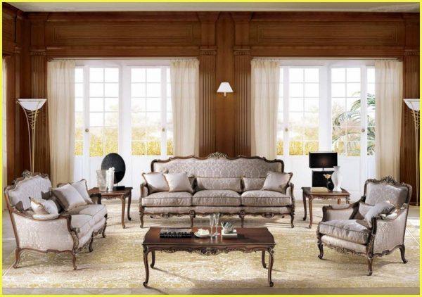 Мягкая мебельукрашенная резьбой