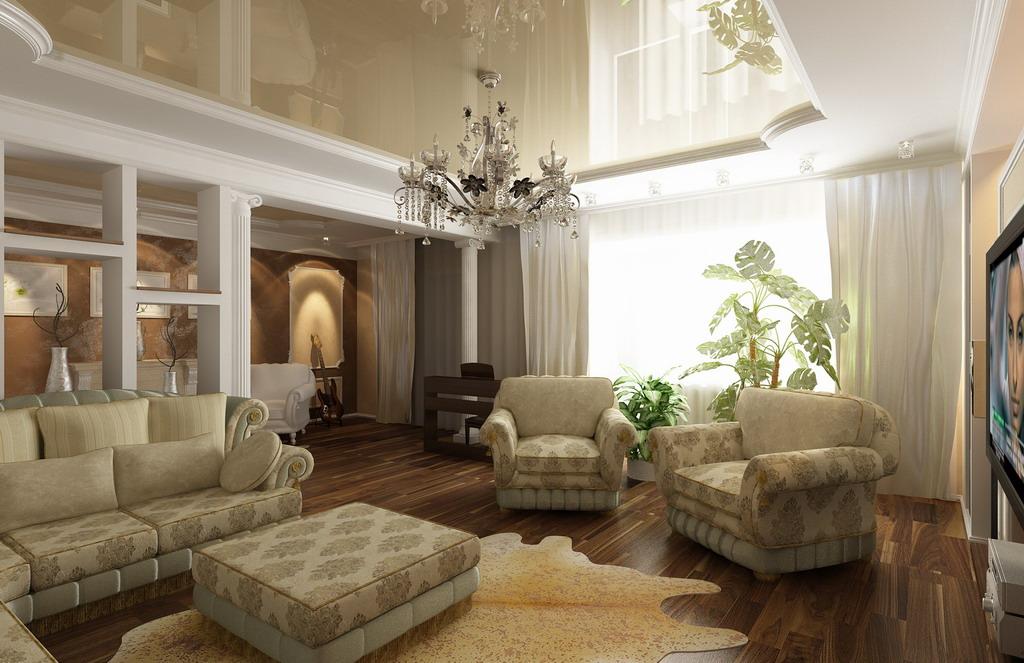 arch-buro-com-Классическая гостиная