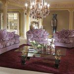 Мягкая мебель в гостиную в классическом стиле