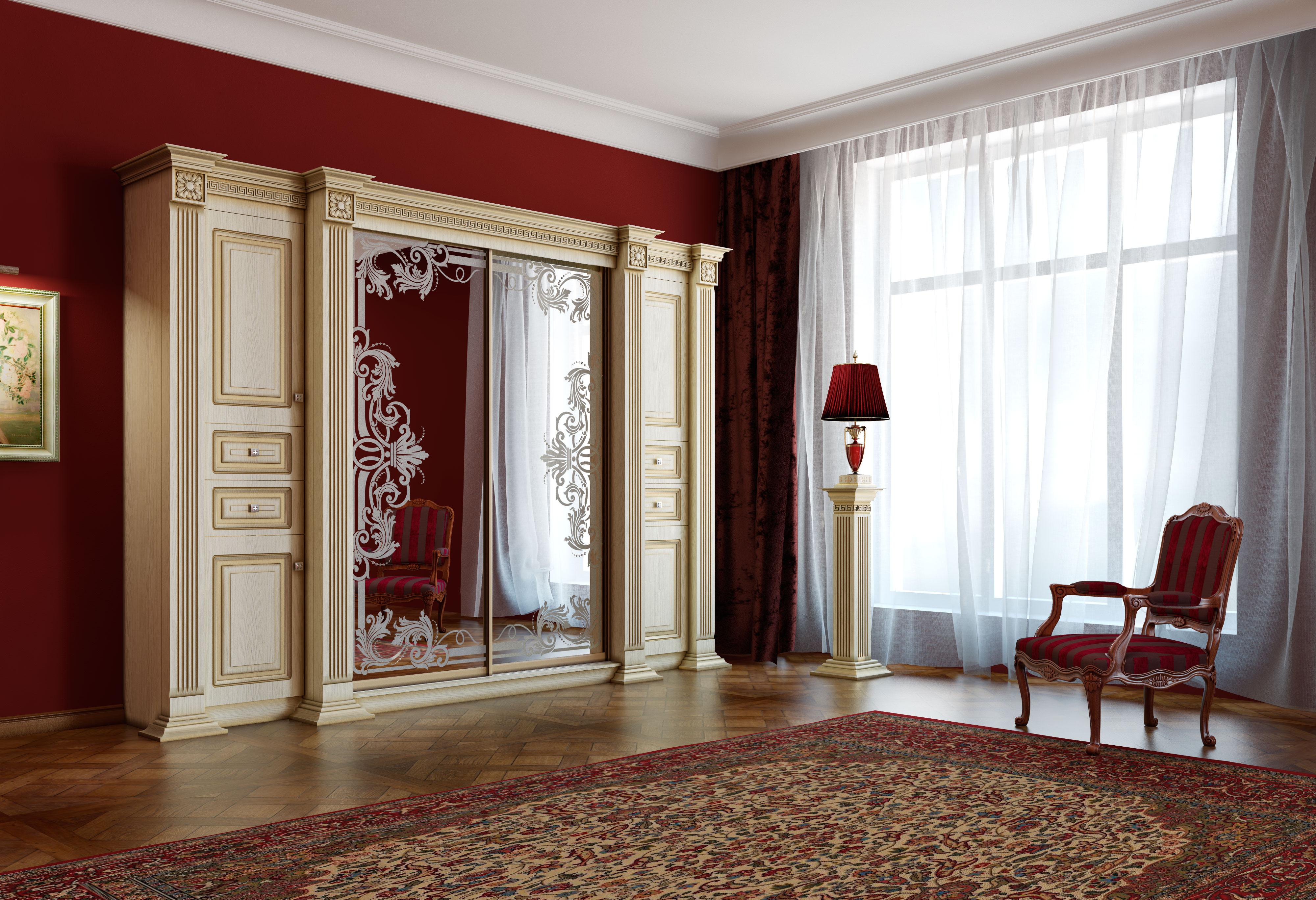 Шкаф в гостиную в современном стиле (52 фото)