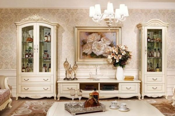 Шкафы для посуды в гостиной