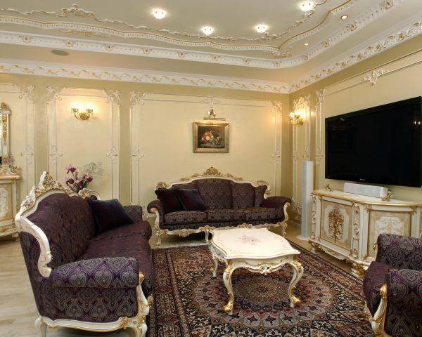 Классический стиль в интерьере квартиры.