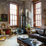 Мебель в интерьере в стиле лофт