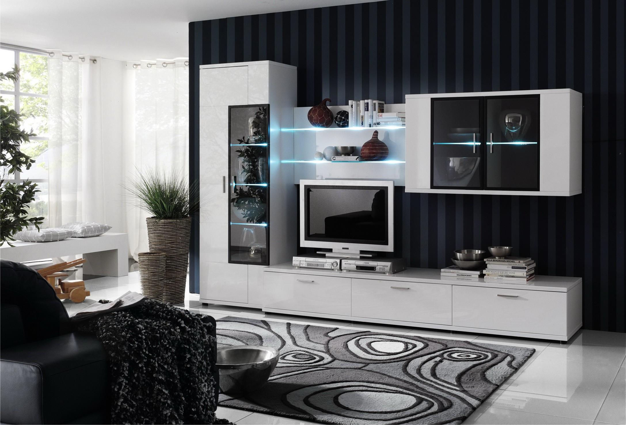 Светлая модульная мебель в современном стиле