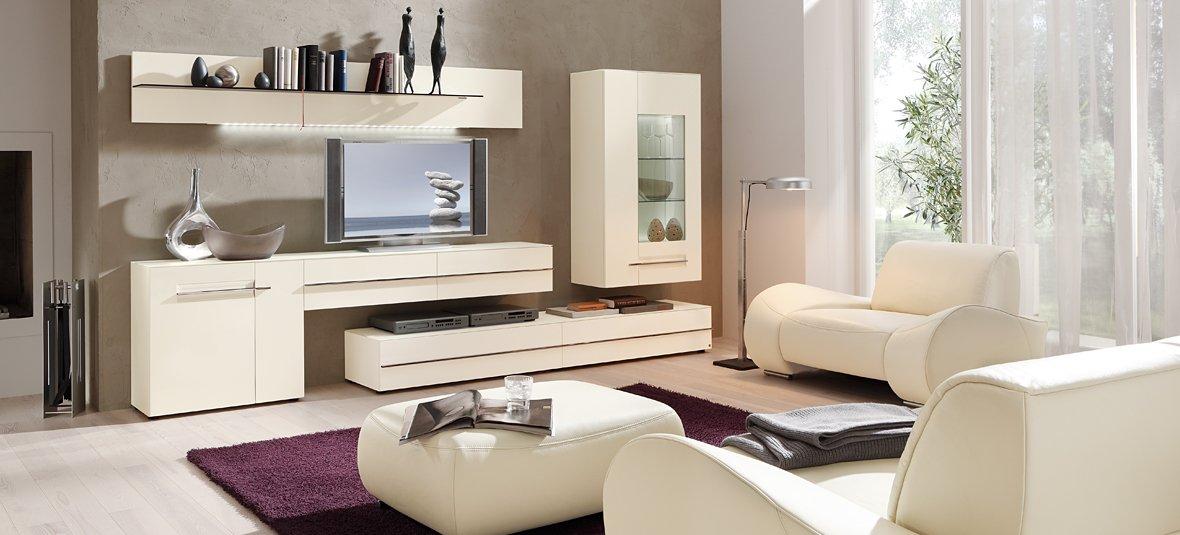 Дизайн модной гостиной