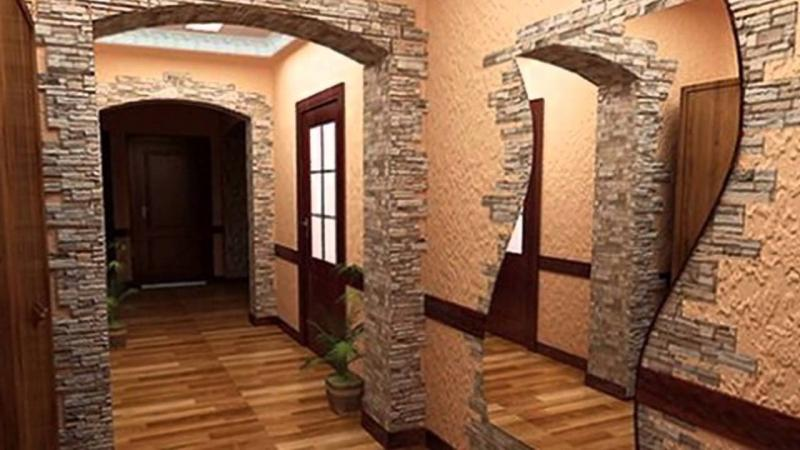 Облицовка арок