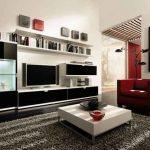Мебель в современном интерьере гостиной