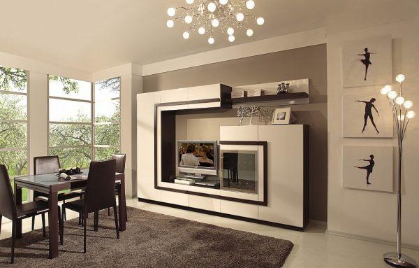 Современная мебель для гостиной.