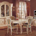 Ажурность форм итальянской мебели