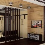 Небольшая спальня-гостиная в японском стиле
