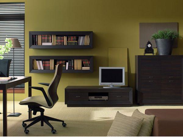 Гостиная с модульной мебелью
