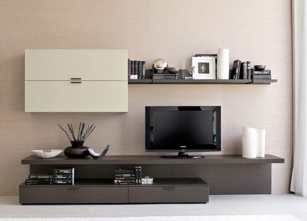 Мебель под ТВ в гостиную в современном стиле