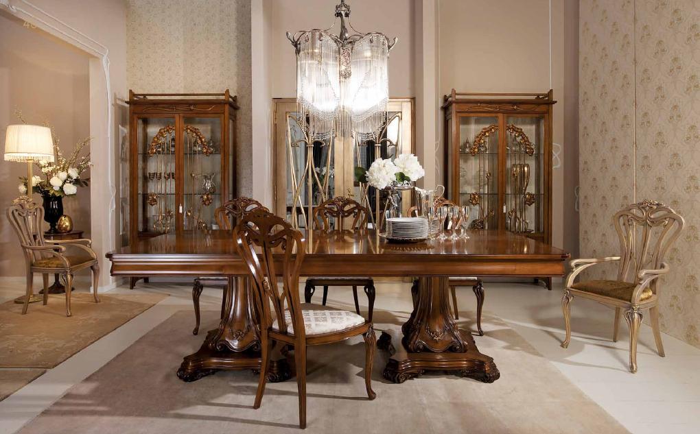 Классическая резная итальянская мебель