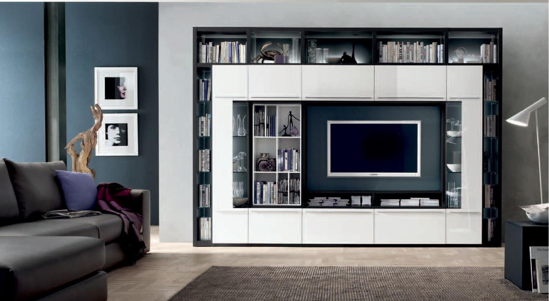 Современная мебель для гостиной в стиле хай-тек