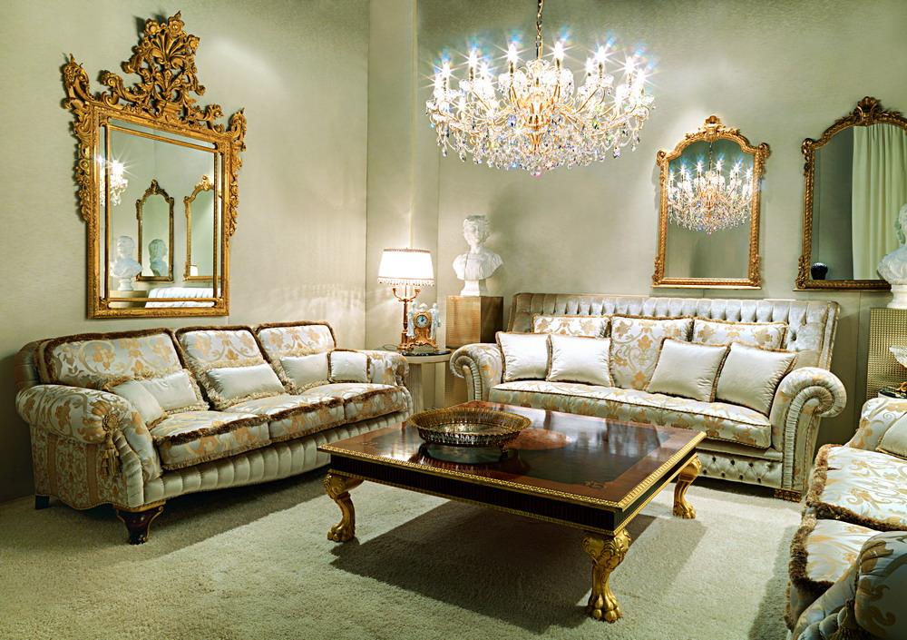 Роскошная и изысканная итальянская мебель.
