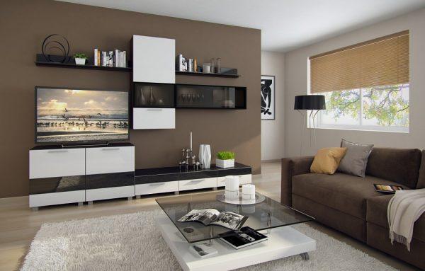 Компактность модульной мебели