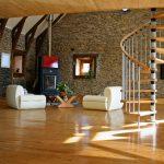 Дизайн интерьера с камином