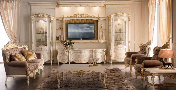 Отделка мебели росписью, резьбой, патированием