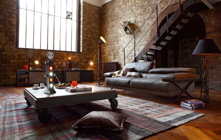 Мебель на колесиках в стиле лофт