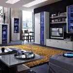 Модульная мебель с подсветкой