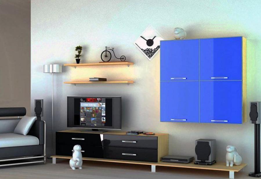 Модульная мебель в стиле хай-тек