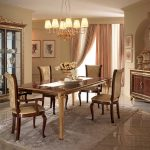 Дизайн интерьера столовой зоны в гостиной