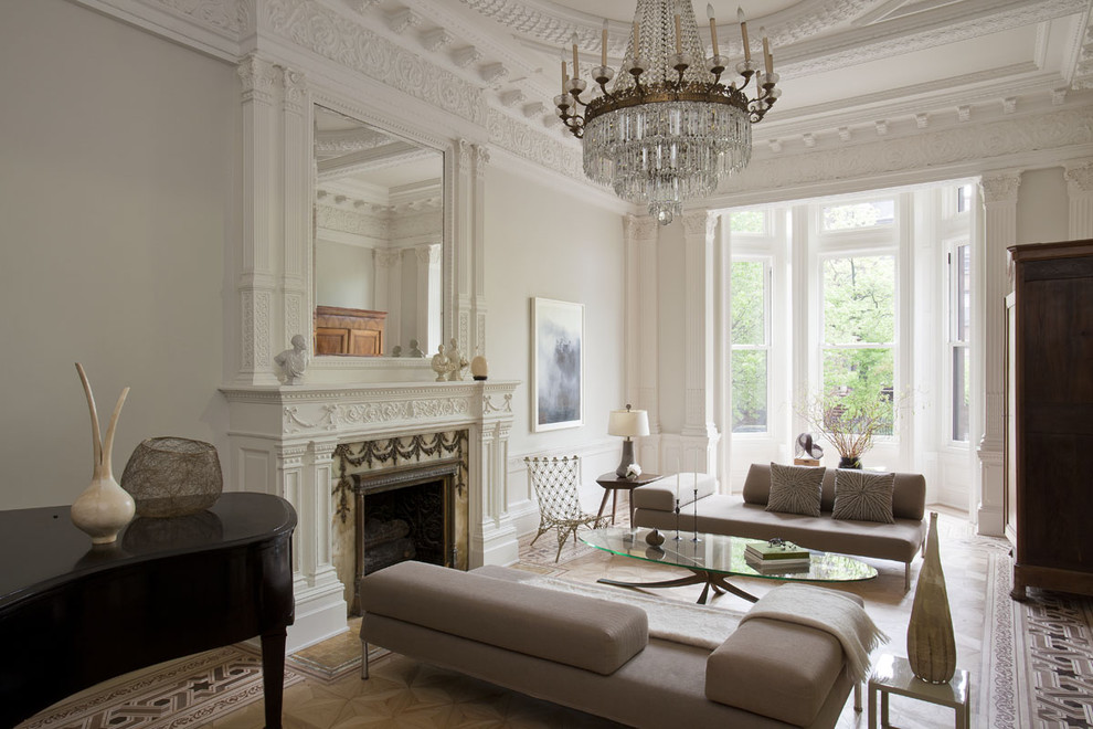 Современный интерьер гостиной