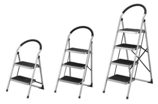 Лестница стремянка: разновидности, критерии выбора, самостоятельное изготовление