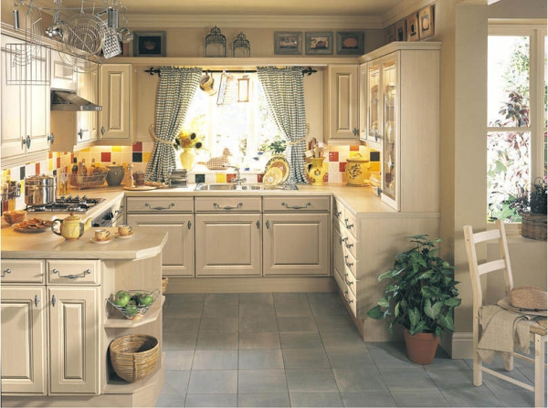 Дизайн кухни в деревенском стиле – недорогое и оригинальное решение