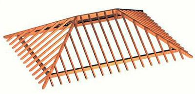 Конструктивные особенности стропильной системы вальмовой крыши