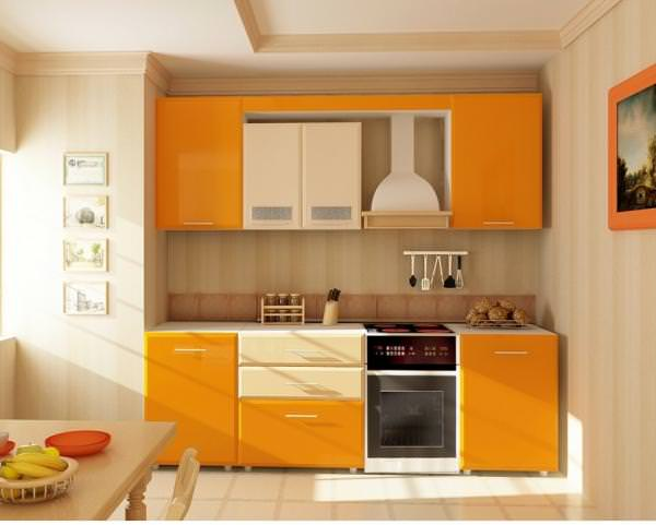 Кухня персикового цвета: как не ошибиться с цветовыми сочетаниями