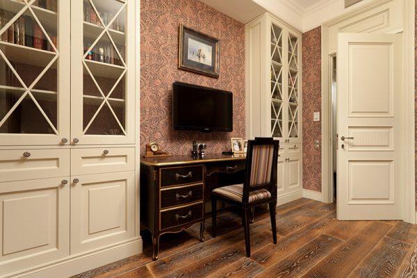 Шкафы в классическом стиле.