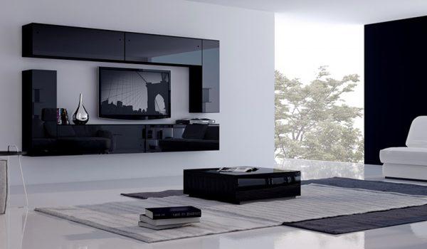 Модульная мебель с фасадом из пластика