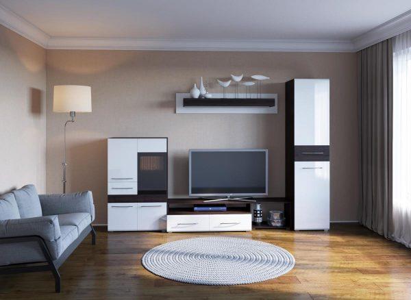 Модульная гостиная в стиле минимализм